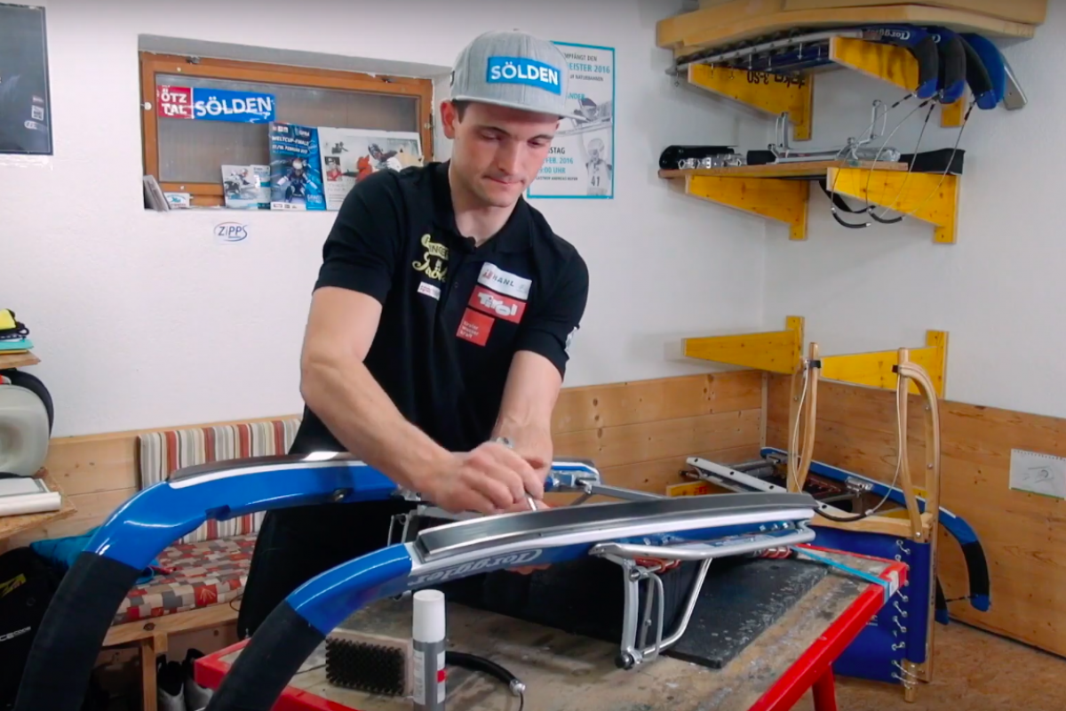 Imagevideo: Thomas Kammerlander für Zipps Skiwachse