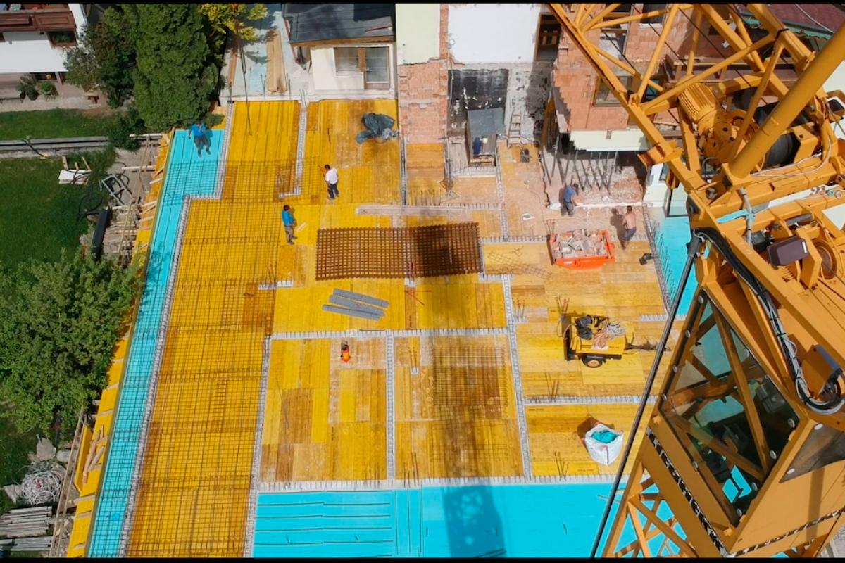 Metzgerwirt Laimach wird zum Hotel – Bauphase 1